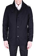 Куртка-плащ мужская черная