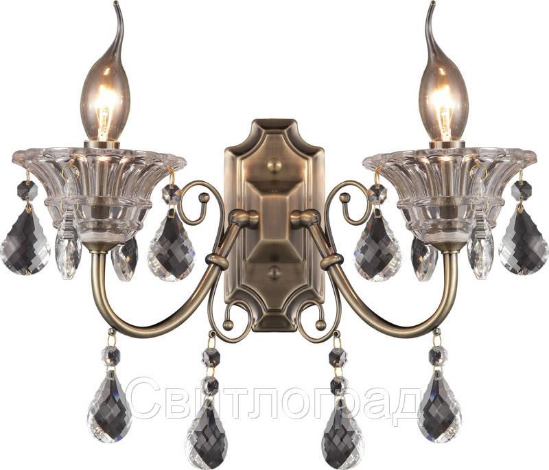 Бра Свеча  Классика  Altalusse INL-1105W-02 Antique Brass