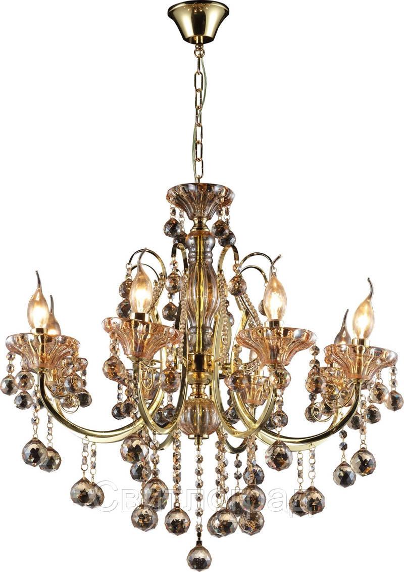 Люстра Свеча  Классика  Altalusse INL-1110P-08 Gold