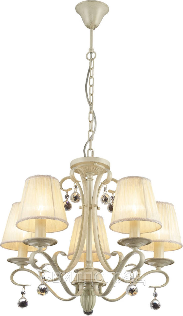 Люстра Классика  c Абажурами  Altalusse INL-6083P-05 Ivory White