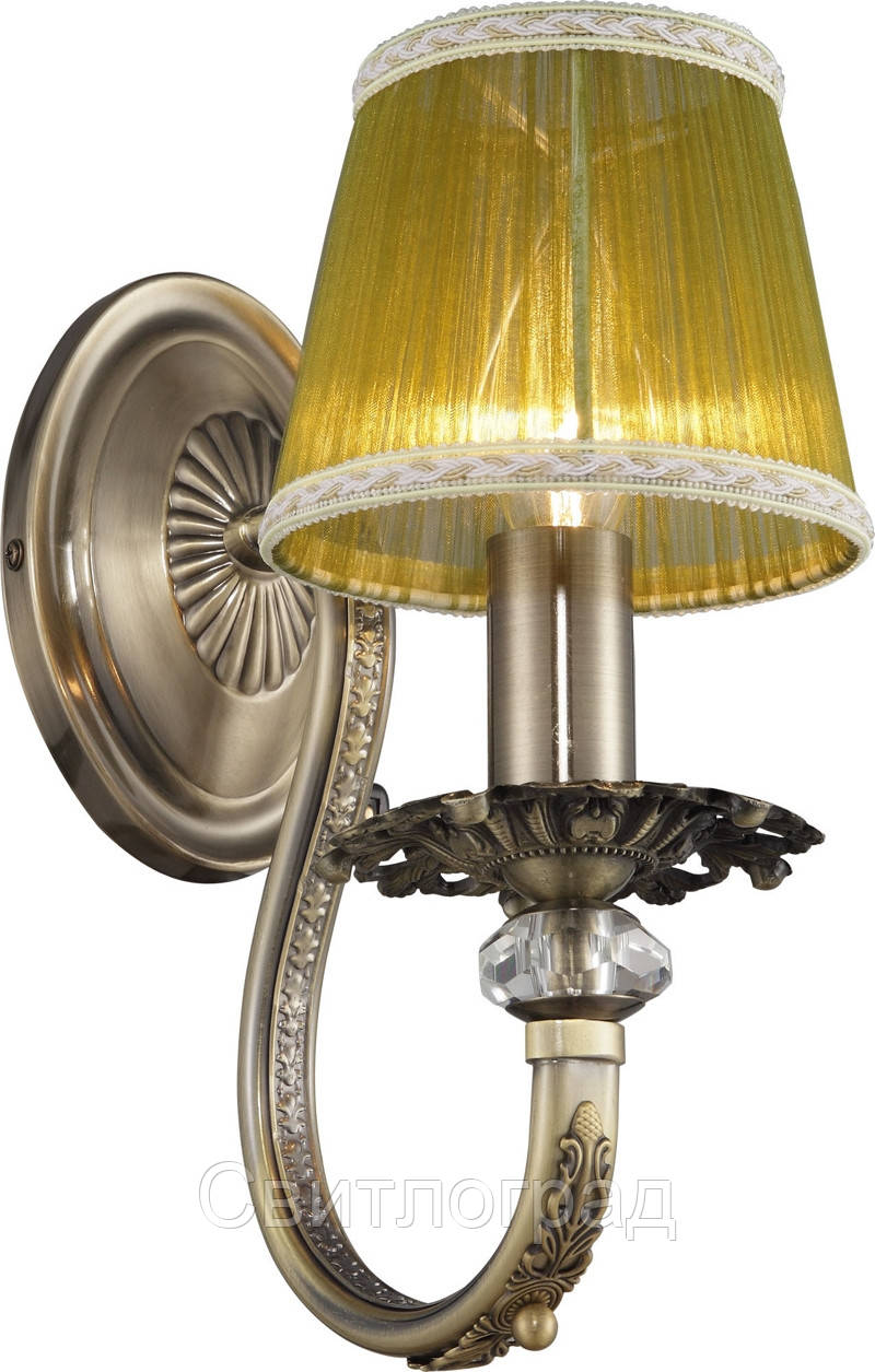Бра Классика  c Абажурами  Altalusse INL-6116W-01 Antique Brass