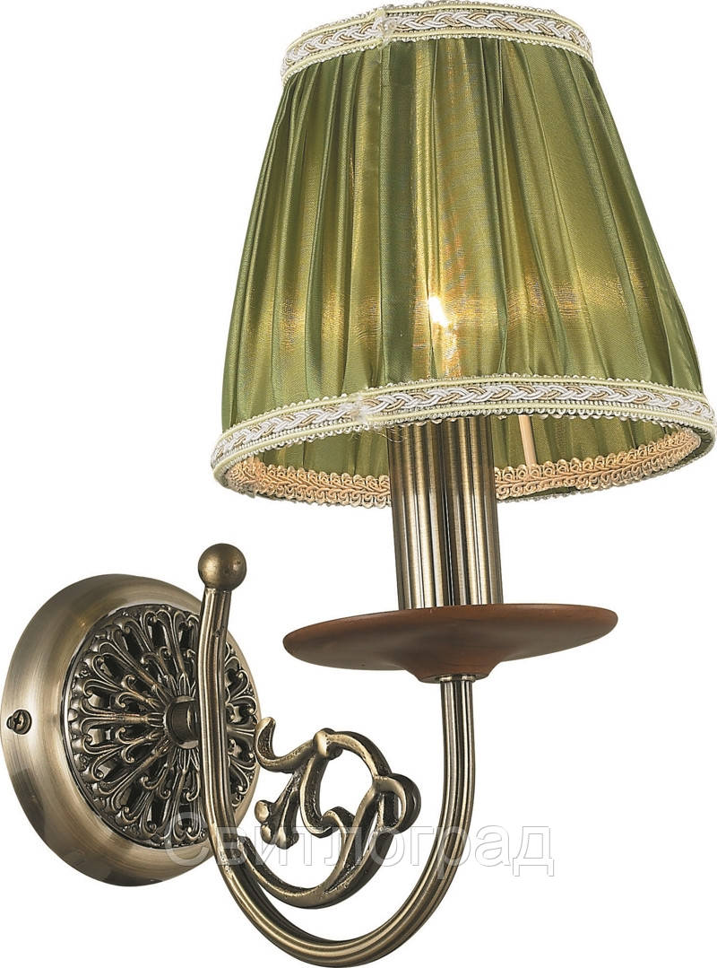 Бра Классика  c Абажурами  Altalusse INL-6117W-01 Antique Brass