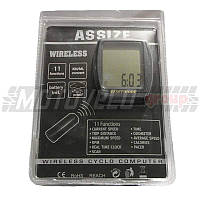 """Велокомпьютер беспроводной """"Assize"""" (#MD),mod:AS-4000"""