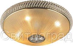 Люстра Хрустальная   Светильник Потолочный Altalusse INL-1032C-4 Amber