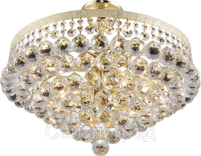 Люстра Хрустальная   Светильник Потолочный Altalusse INL-1117C-06 White Gold