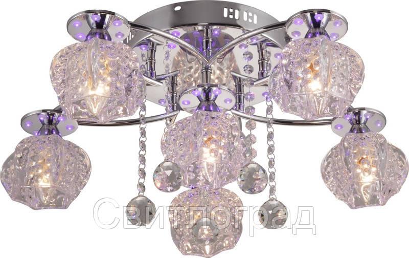 Люстра с Плафонами   Светильник Потолочный Altalusse INL-9315C-06 Chrome