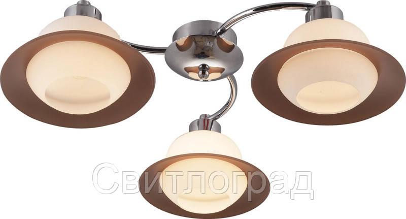 Люстра с Плафонами   Светильник Потолочный Altalusse INL-9324C-03 Chrome