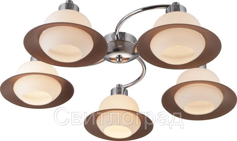Люстра с Плафонами   Светильник Потолочный Altalusse INL-9324C-05 Chrome