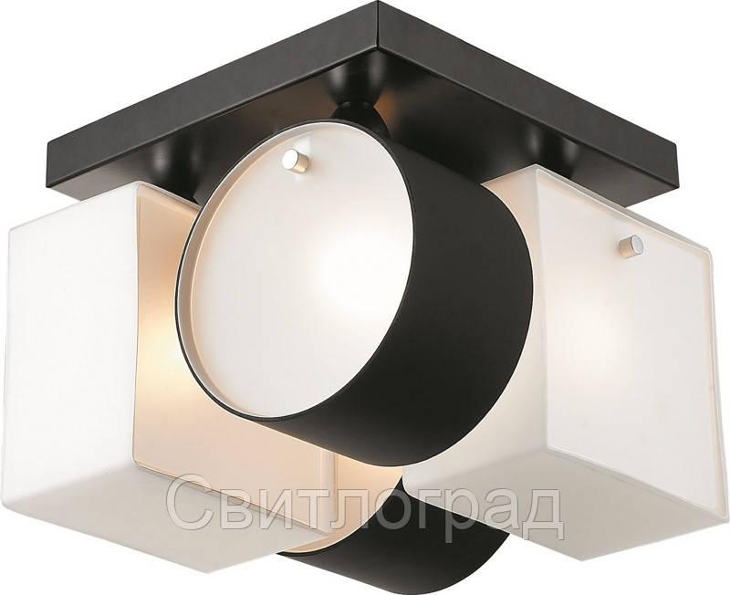 Люстра с Плафонами   Светильник Потолочный Altalusse INL-9252C-04 White & Black