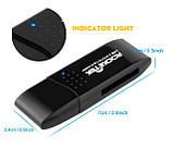 Картрідер cardreader Rocketek USB 3.0 MicroUSB OTG для SD, micro SD, SDXC, SDHC ЧОРНИЙ SKU0000670, фото 6