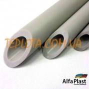 Полипропиленовая труба ALPHA PLAST ( PN 20 ) диаметр 20 мм для подачи горячей и холодной воды