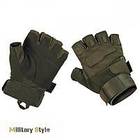 Перчатки тактические без пальцев Protect (Olive)