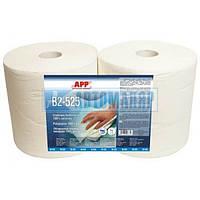 APP 090413 Обтирочный материал Standart 2-х шаровой гофр.26*30,5см  белого цвета 244м/п
