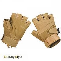 Перчатки тактические без пальцев Protect (Coyote)