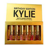 Помада Kylie Jenner коллекционный набор помад, 6 оттенков
