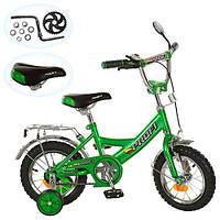 Велосипед PROFI детский 18д. P 1842A, зеленый