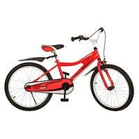 Велосипед PROFI детский 20д. 20BA494-1, красный