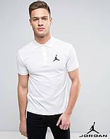 Мужская футболка поло Jordan, футболка с воротником