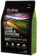 170551 Profine Dog Light Lamb, 15 кг