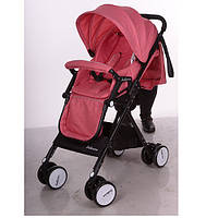 Детская прогулочная коляска A8, pink, розовый