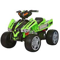 Детский квадроцикл BAMBI M 2394 E-5, колеса EVA, зеленый