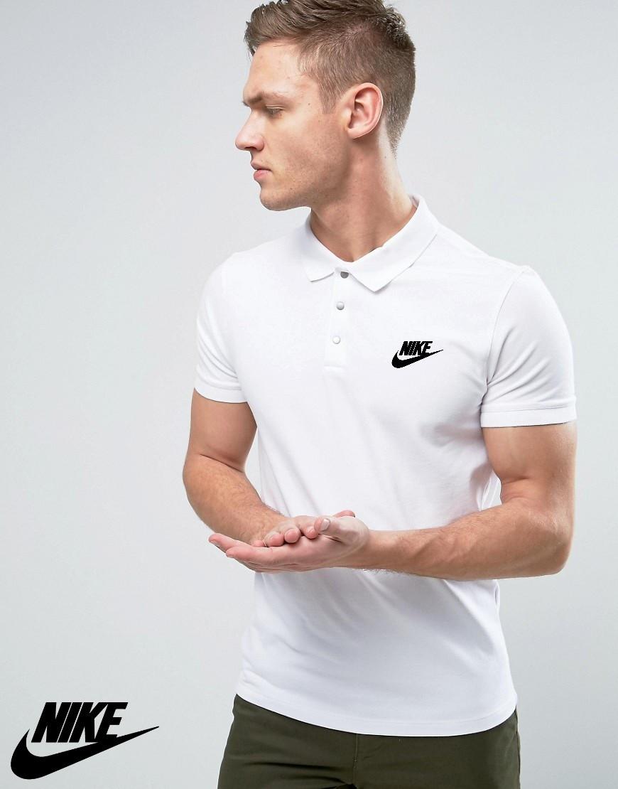 58599567f522a Футболка поло Nike, Мужская тенниска Найк (Реплика): продажа, цена в ...