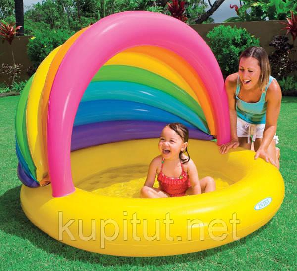 Детский надувной бассейн Intex 57420 Ракушка