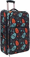 Чемодан Bagland Леон большой дизайн 70 л. сублимация (черепа) (0037666274)