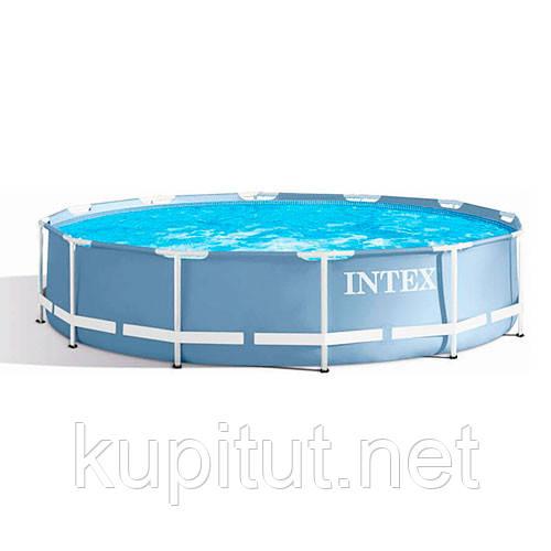Каркасный бассейн Intex 28710, круглый, Prism Frame Pool, 366x76