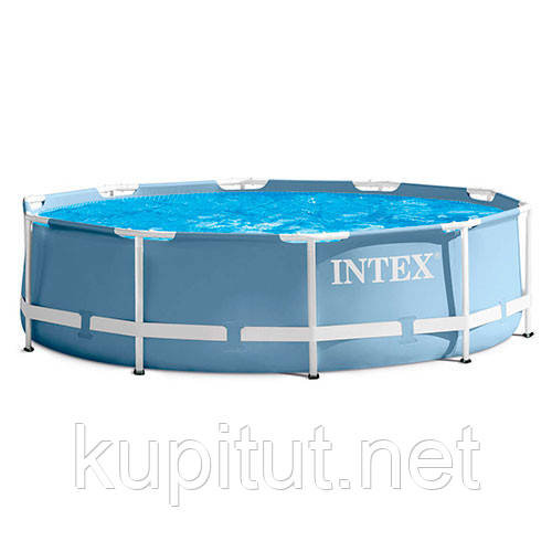 Каркасный бассейн PRISM FRAME POOL Intex 28700, круглый, 305х76 см