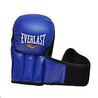 Рукопашные перчатки PVC Everlast синие EVDX415-B