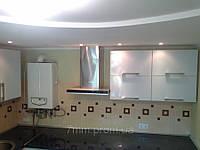 Кухня белый мдф