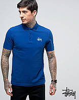 Футболка Поло Stussy, Мужская футболка Stussy с воротником
