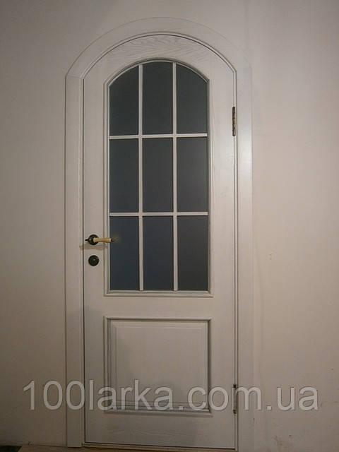 Двери деревянные арочные