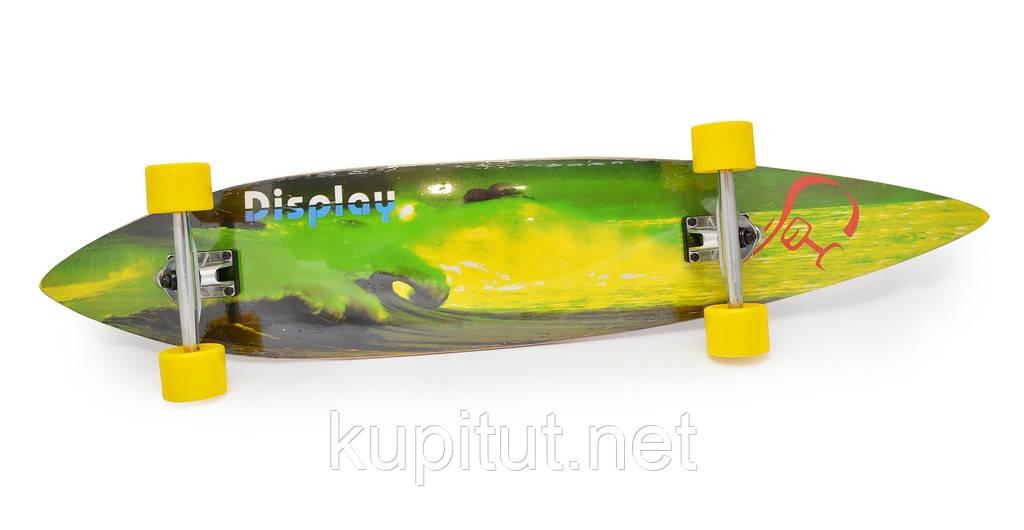 """Скейт """"Langboard"""" 4608-4 зеленый"""