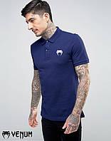 Футболка поло Venum I Мужская футболка с воротником Венум