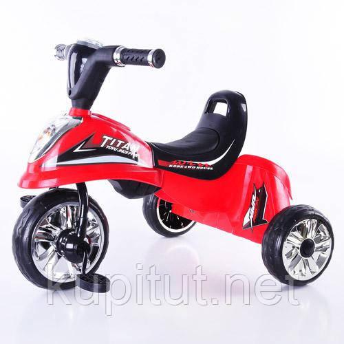 Трехколесный велосипед Profi Trike M 5343 красный