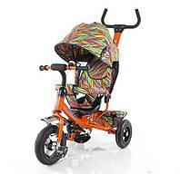Трехколесный велосипед TILLY Trike T-351-2 оранжевый