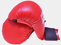 Накладки для карате красные BWS4009-R