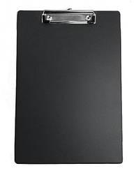 Планшет с клипом, А4, PVC, черн.., 4-257, 4Office