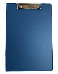 Папка-планшет с клипом, А4, PVC, син.., 4-258, 4Office