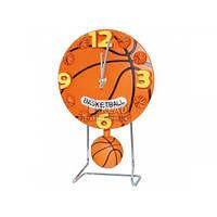 Часы настольные с маятником S&T Баскетбольный мяч 17*4,5*26см 05-014