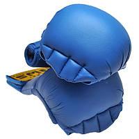 Накладки для карате синие BWS4008-B
