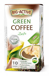 Зелёный кофе Big-Active La Karnita Green Coffee 2w1 – 10п.x12г