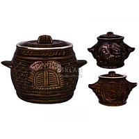 Глечик для запекания Славянская керамика Обжора 600 мл