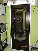 Вхідні металопластикові двері VEKA