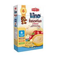 Каша пшеничная молочная Keksolino с печеньем и яблоком, 200 г 1115312 ТМ: Lino