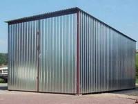 Металлический гараж, 5*3м