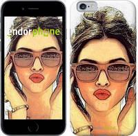 "Чехол на iPhone 6 Девушка_арт ""3005c-45"""