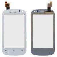 Сенсорный экран для мобильного телефона Alcatel One Touch 4033 POP C3, белый